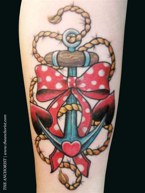 anchor with bow tattoo 1000 ideas about anchor bow tattoos on