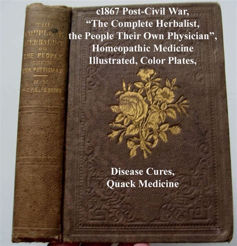 an epitome of the homeopathic healing containing the new discoveries and improvements to the present time designed for the use of families and companion for the physician classic reprint books 71 best images about antique quack books 4 sale