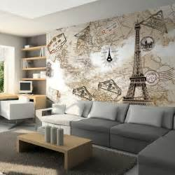 Eiffel Tower Wall Mural online buy wholesale paris mural wallpaper from china