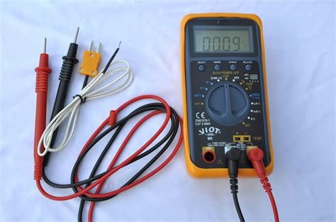 capacitor test multimeter ac dc ammeter ohm volt multimeter dmm capacitor tester type k thermocouple hvac professional