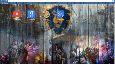 theme chrome hearthstone warcraft chrome themes themebeta