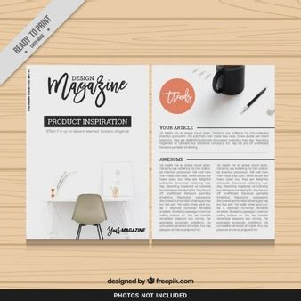magazine style template magazine vectors photos and psd files free