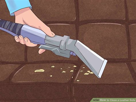 how to clean leather sofa 4 ways to clean a leather sofa wikihow