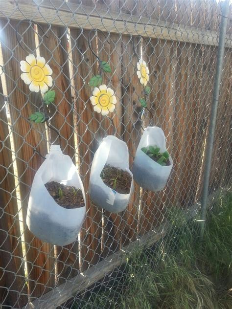 Milk Jug Planters by 17 Best Images About Milk Jug Garden On