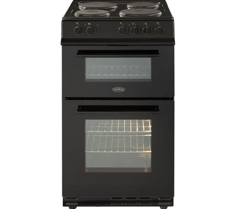 Electric Cooker buy belling fs50et 50 cm electric cooker black free