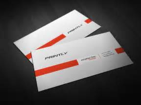 Template Business Cards Free free printly psd business card template printly