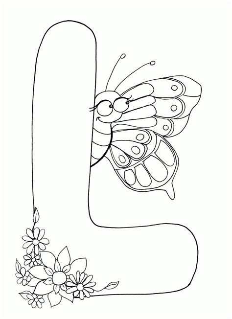 Alphabet L Coloring Pages by Free Coloring Pages Letter L Coloring Home