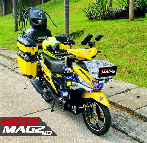 Modifikasi Motor Touring by Kumpulan Foto Modifikasi Yamaha Mio M3