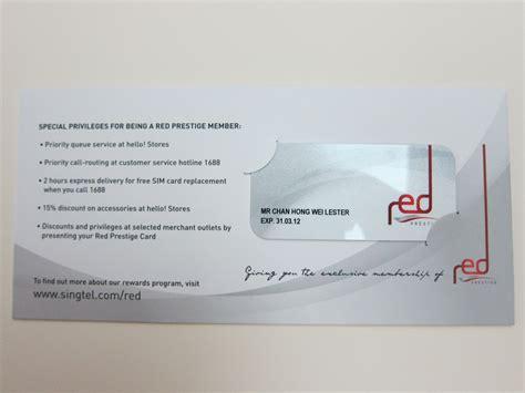Uob Credit Letter Singtel Prestige 171 Lesterchan Net
