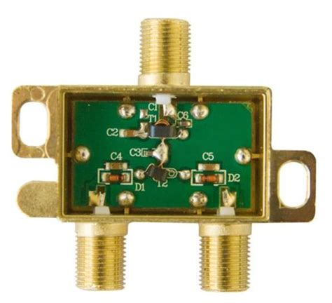 tvs diode for gps 3 way wideband satellite splitter diode steered hfs 3d from solid signal