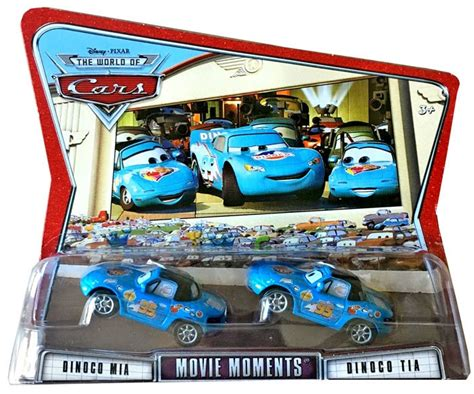 Diecast The World Of Cars Kualitas Bagus disney cars the world of cars moments dinoco 155 diecast car 2 pack mattel toys