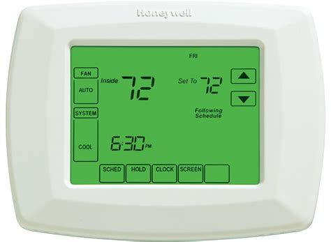 comfort one heating and cooling 7 day programmable thermostat rth8500d honeywell