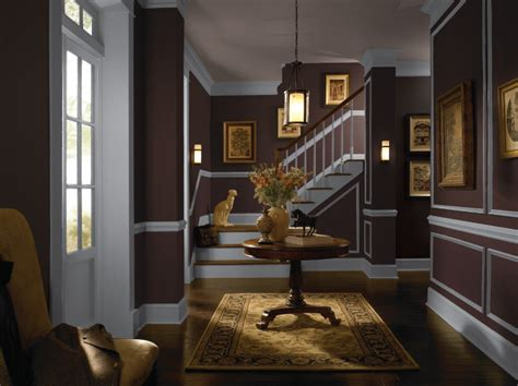 colorfully behr color of the month black garnet