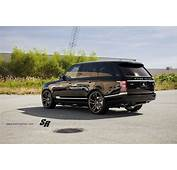 Range Rover Sport Black Pur Wheels Tuning Cars Wallpaper