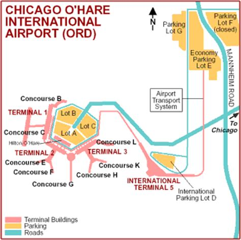 chicago airport map american airlines free map of ohare airport map travel