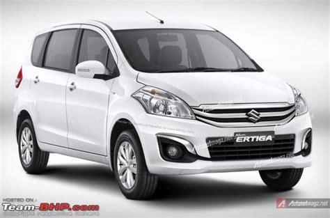 Maruti Suzuki Ertiga Price Team Bhp Maruti Ertiga Official Review