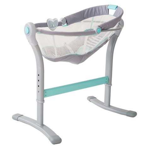 Summer Sleeper by Swaddleme 174 By Your Bed Bedside Sleeper By Summer Infant 174 Gray Blue Target
