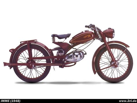 Motorrad Imme by Pin Bikes Imme 1948 On