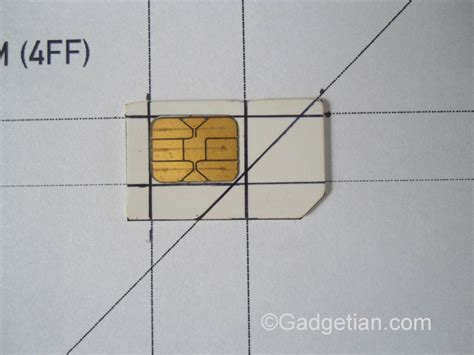 how to cut sim card to nano sim template how to easily convert or cut sim card to nano sim for