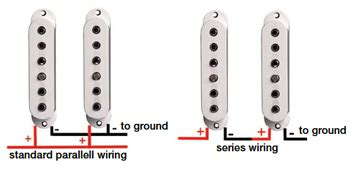 guitar wiring series vs parallel explained