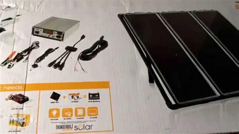 thunderbolt magnum solar panel kit 45 wats harbor freight 45 watt solar panel kit