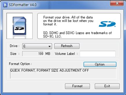 best free software to format sd card to exfat on windows thinkware dash cam faq