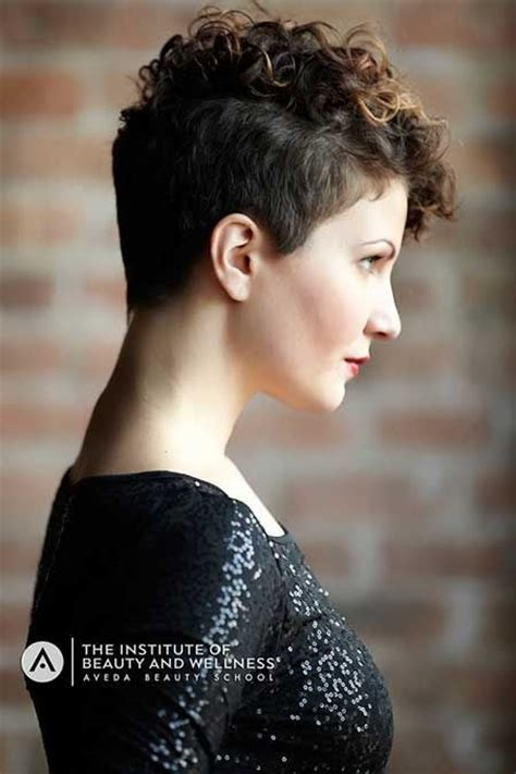 short pixie haircuts curly hair 25 lively short haircuts for curly hair short wavy curly
