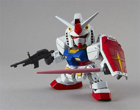 sd gundam ex standard 001 rx 78 2 figure model kit new ebay