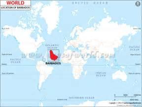 Barbados World Map by Where Is Barbados World Map Weltkarte Peta Dunia Mapa
