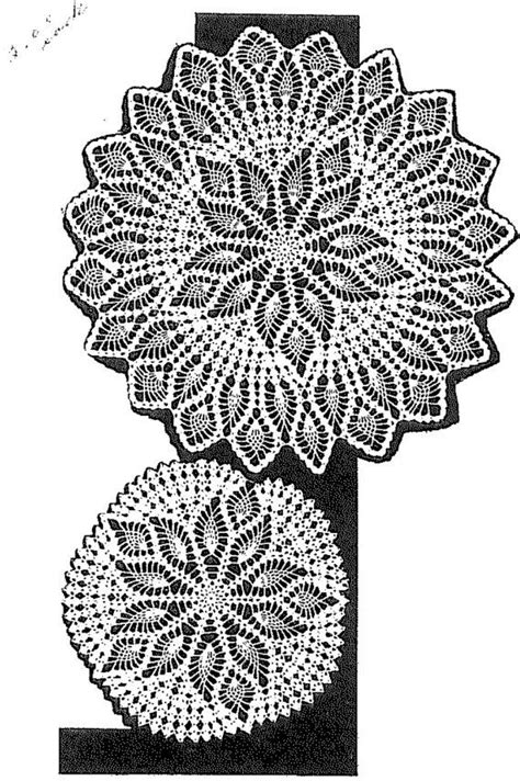 pattern matching in c shell two matching doily patterns in pineapple shell stitch