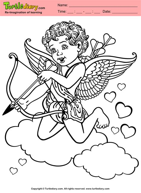 cupid coloring pages cupid free coloring pages