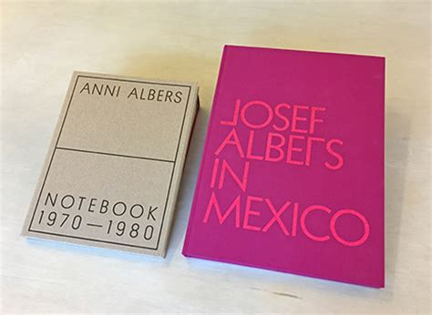 anni albers notebook 1970â 1980 books josef and anni albers foundation