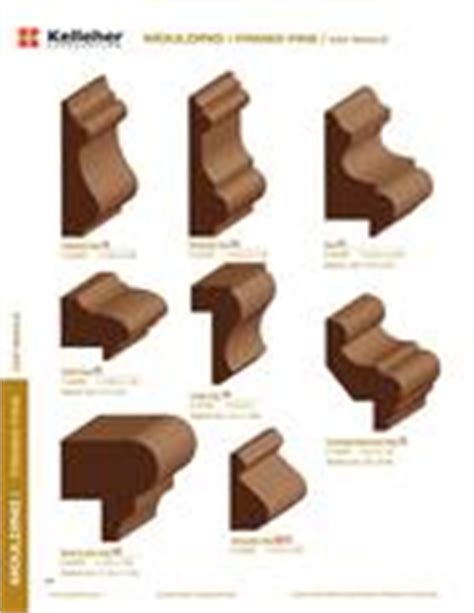 Wainscot Molding Profiles Wainscot Cap Moulding In Northern Catalog By Kelleher