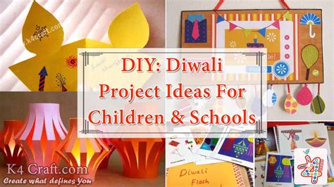 diy diwali project ideas  children schools  craft