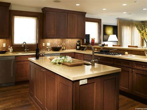 kitchens with dark wood cabinets elegant white shaker kitchen cabinets with dark wood