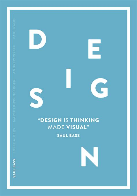 design is thinking 5 quotes by paul rand saul bass josef albers and more