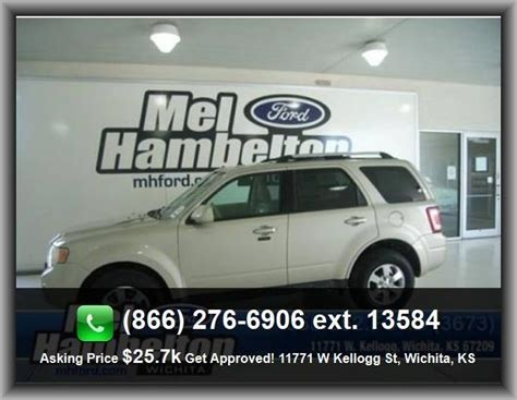 2012 ford escape limited suv tire pressure monitoring system coil front spring leather seat