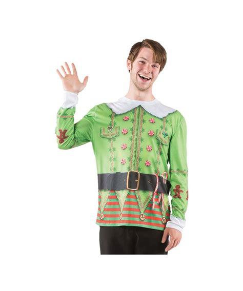 printable elf costume christmas elf print men s costume shirt men costume