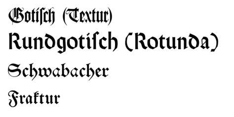 diversi tipi di scrittura scrittura gotica