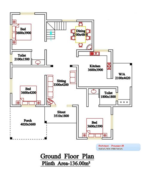 floor plans kerala style houses 2800 square 6 bedroom floor sloping roof kerala style home design and plan home