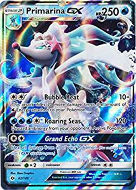 pokã mon ultra sun pokã mon ultra moon edition the official national pokã dex books primarina gx 42 149 ultra sun moon