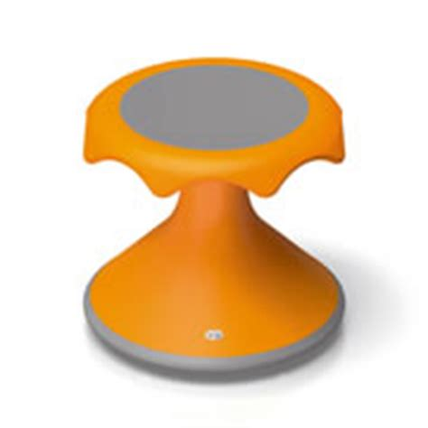 Yellow Orange Stool by How To Use Hokki Stools In Your Classroom Kaplan Early