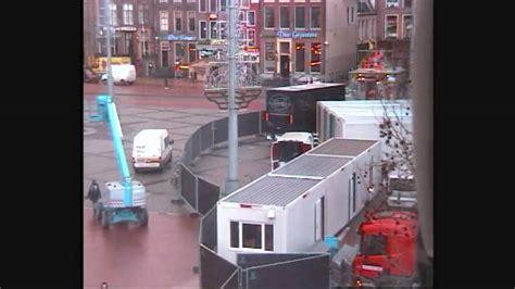 serious request glazen huis opbouw glazen huis 3fm serious request groningen youtube