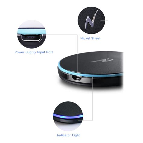 apple wireless charger nillkin magic disk wireless charger apple iphone 7 plus