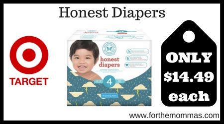 printable honest diaper coupons target honest diapers only 14 49 each only 5 21 ftm