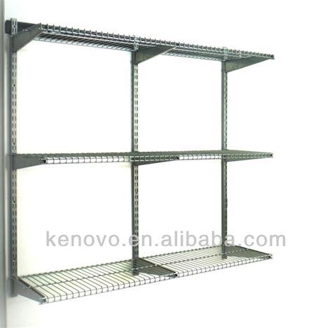 Garage Storage Kenovo Garage Storage Shelving Shelf Wire Panel 380mmx916mm