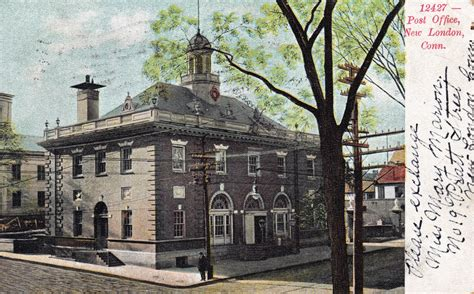 Newburyport Post Office by Post Office New Ct Postcards Net