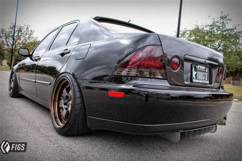 lowered lexus is300 is300 rear diffuser fuzor aluminum
