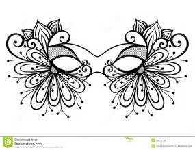 masquerade mask template colouring pages