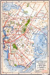 Brooklyn New York Map by New York Maps Perry Casta 241 Eda Map Collection Ut